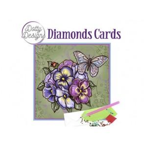 Dotty Designs, Diamonds kartice, Purple Flowers