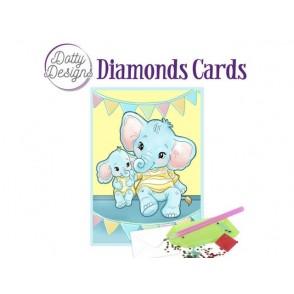 Dotty Designs, Diamonds kartice, Elephants