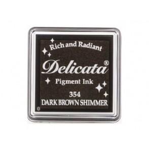 Barvna blazinica, Delicata, Dark Brown Shimmer