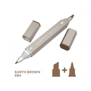 Marker Graphic, Earth brown