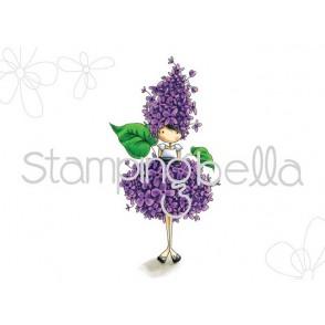 Štampiljka, Tiny Townie Garden Girl, Lilac