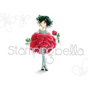 Štampiljka, Tiny Townie Garden Girl, Rose