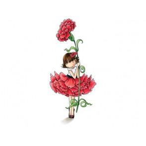 Štampiljka, Garden Girl Carnation