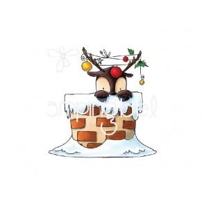 Štampiljka, Peekaboo Reindeer Stuffie