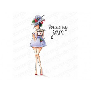 Štampiljka, Curvy Girl Loves Jam