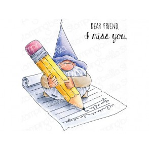 Štampiljka, Gnome & The Letter