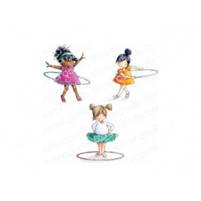 Štampiljka, Tiny Townie Hula Hoopers