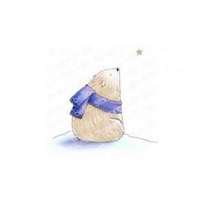 Štampiljka, Polar Bear Wishing Upon A Star