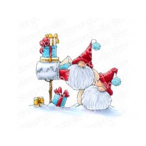 Štampiljka, Christmas Card Gnomes