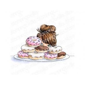 Štampiljka, Mochi Donut Girl