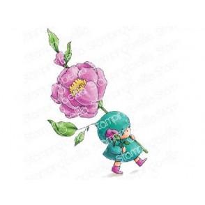 Štampiljka, Bundle Girl With A Rose