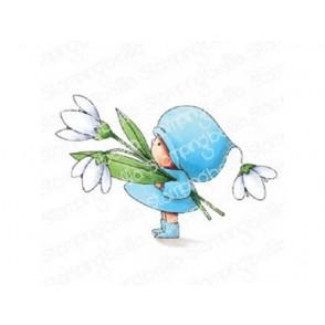 Štampiljka, Bundle Girl With A Snowdrop