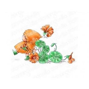 Štampiljka, Bundle Girl Flower March