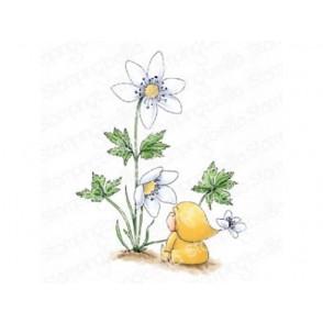 Štampiljka, Bundle Girl With A Wood Anemone
