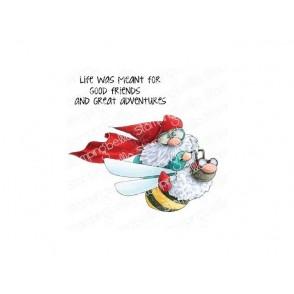 Štampiljka, Flying Gnome