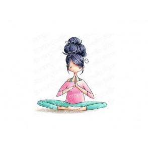 Štampiljka, Curvy Girl Namaste