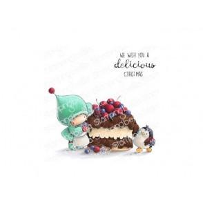 Štampiljka, Bundle Girl & Penguin Bake A Cake
