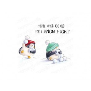 Štampiljka, Snowfight Penguins