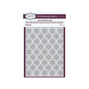 Mapa za embosiranje, Bold snowflakes