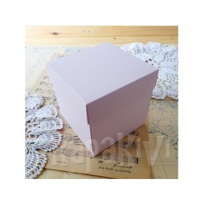 Osnova za škatlico, pastel roza, 300 g