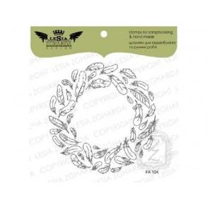Štampiljka, Wreath of feathers