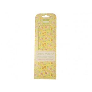 Papir, Decoupage, Disty floral
