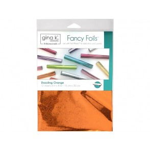 Svetleča folija, Fancy Foil, Dazzling Orange Holographic