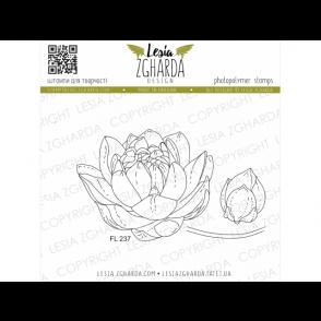 Štampiljka, Water lily