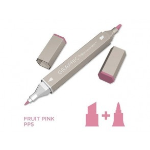 Marker Graphic, Fruit pink