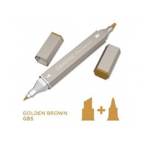 Marker Graphic, Golden brown