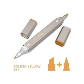 Marker Graphic, Golden yellow