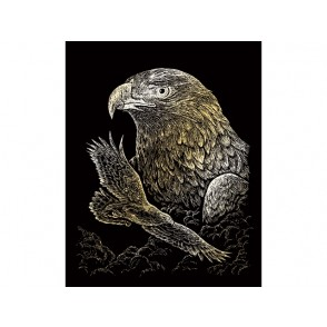 Praskanka, Gold Engraving, Eagles