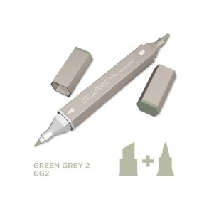 Marker Graphic, Green grey 2