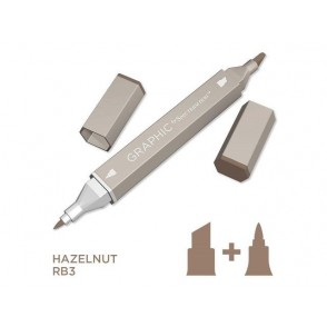 Marker Graphic, Hazelnut