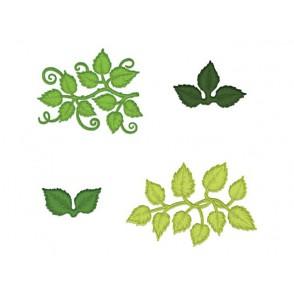 Rezalna šablona, Leafy Accents