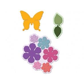 Rezalna šablona, Botanical Wings Die