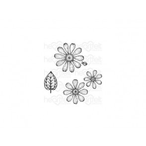 Štampiljka, Small Garden Zinnia