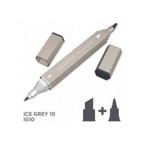 Marker Graphic, Ice grey 10