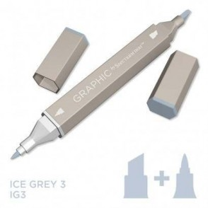 Marker Graphic, Ice grey 3