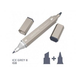 Marker Graphic, Ice grey 8