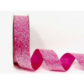 Dekorativni trak, Crystal glitter, roza