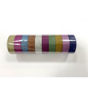 Dekorativni lepilni trak, mix bleščice