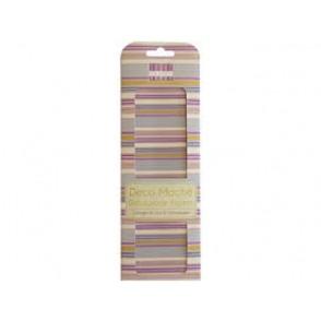Papir, Decoupage, Purple stripes