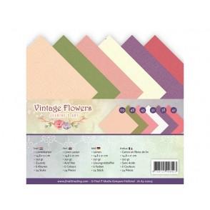 Papir, Vintage Flowers