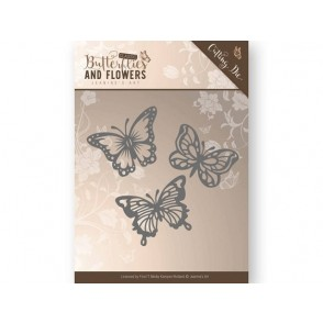 Rezalna šablona, Classic Butterflies and Flowers, Butterflies