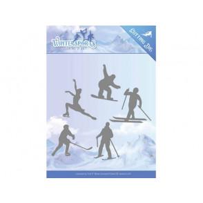 Rezalna šablona, Wintersports, Winter sporting