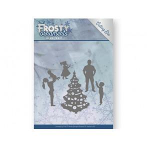 Rezalna šablona, Frosty Ornaments, Happy Family