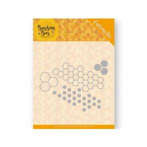 Rezalna šablona, Buzzing bees, Hexagon set