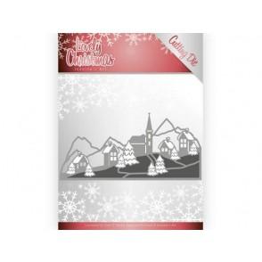 Rezalna šablona, Lovely Christmas, Lovely Christmas landscape