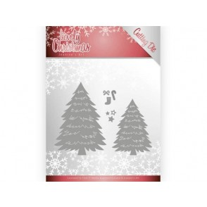 Rezalna šablona, Lovely Christmas, Lovely trees